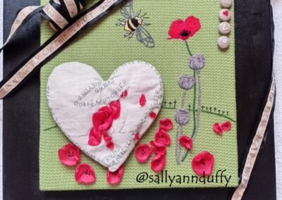 'Remembrance' Mixed Media- Sally-Ann Duffy