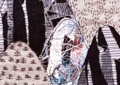 'Masked Mountain' mixed media- Sally-Ann Duffy